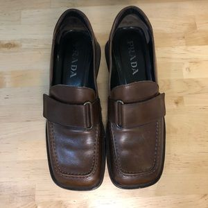 SALE iconic vintage Prada loafers